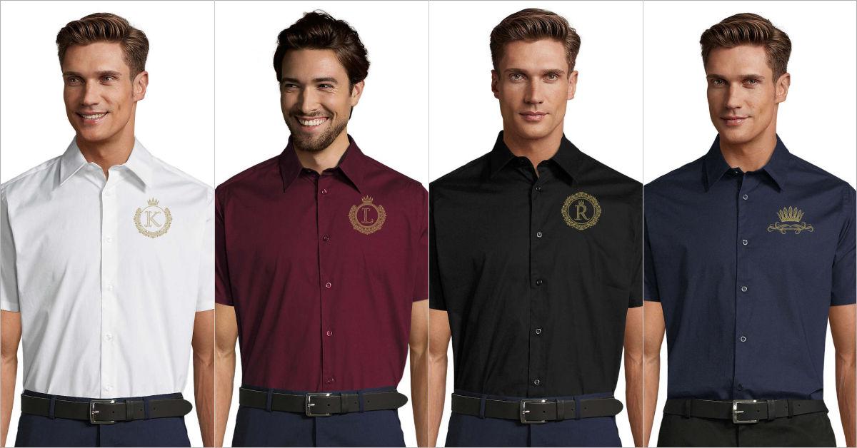 Mens Shirt Short Sleeve | Royal Collection | EliteRebels.eu